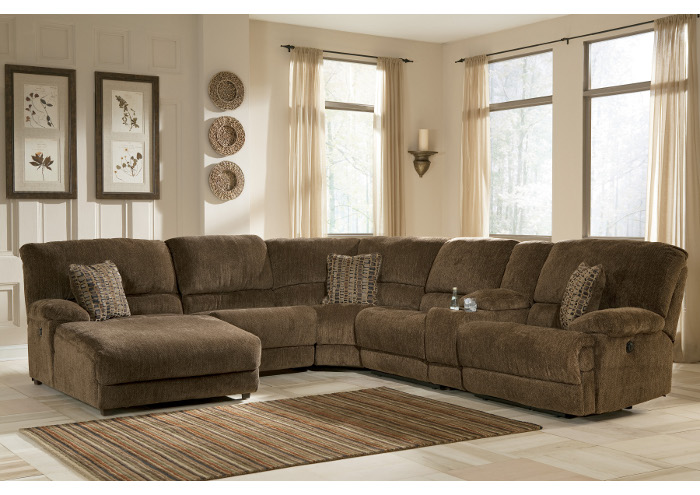 Ashley Furniture Reclining Sectional Sofa 700 x 495