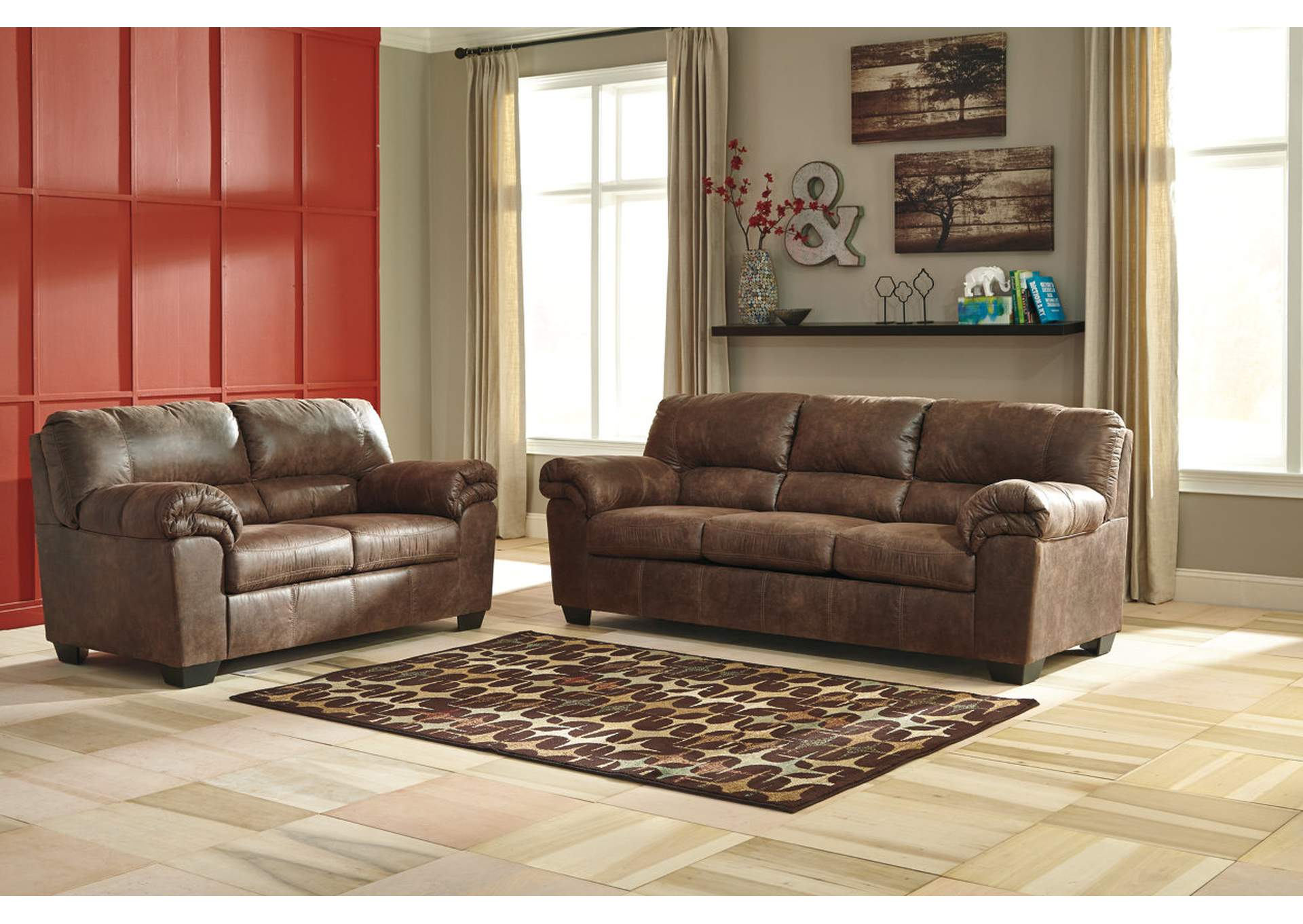 Alabama Furniture Market Bladen Coffee Sofa And Loveseat