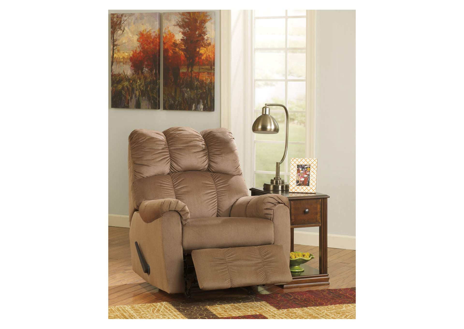 Davis Home Furniture Asheville Nc Raulo Mocha Rocker Recliner