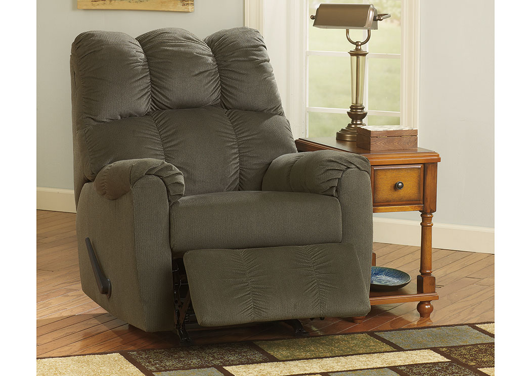 Barbara Jeans Furniture Raulo Moss Rocker Recliner