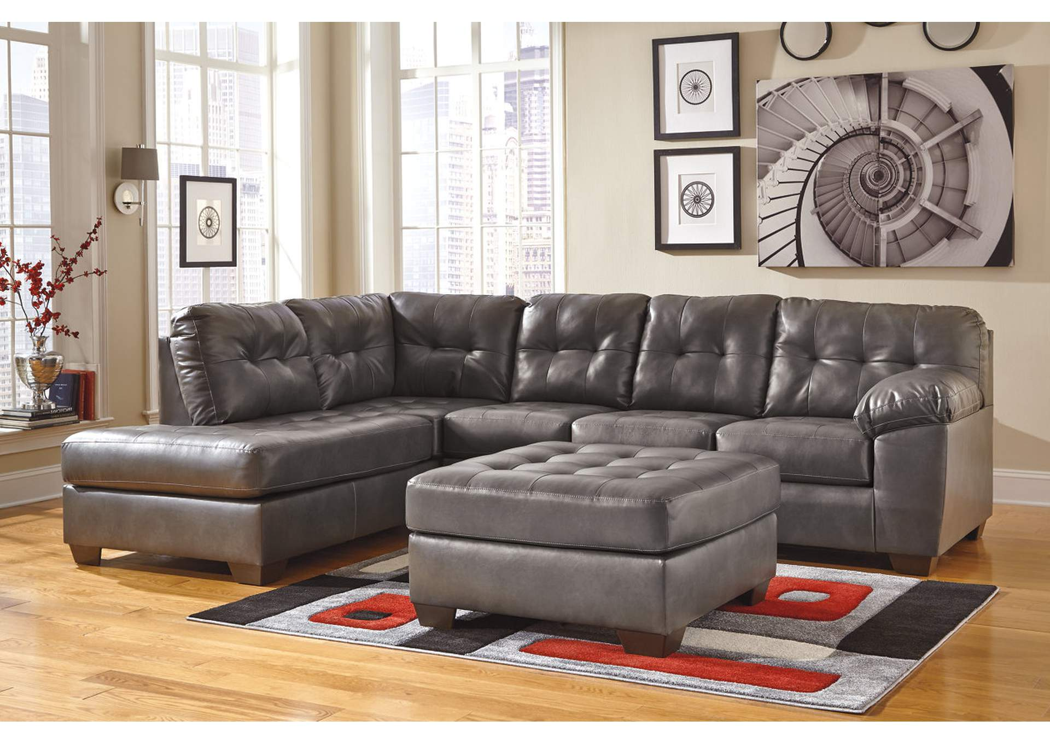 Canales Furniture Arlington Dallas Fort Worth Mesquite Tx Alliston Durablend Gray Left Arm