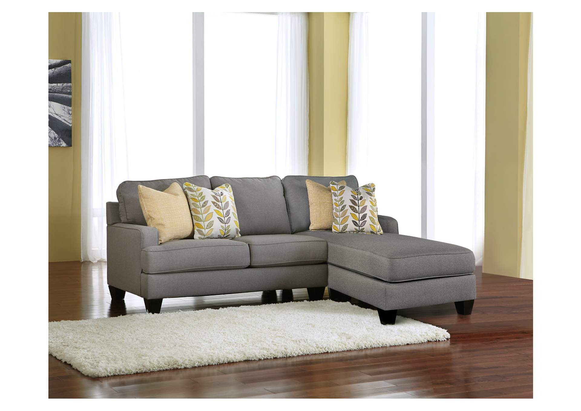 Furniture palace chamberly alloy chaise end sectional for Chaise end sofas