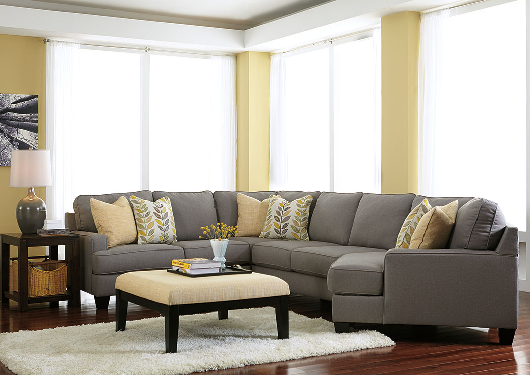 Chamberly Alloy Cuddler End Sectional on Chamberly Sectional Ashley Furniture