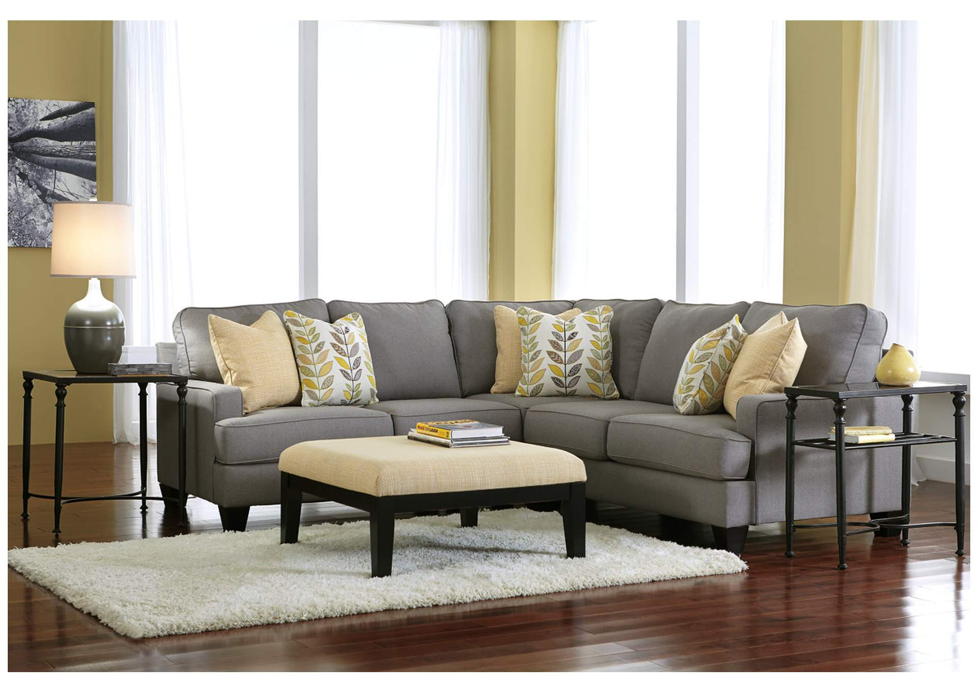 Davis Home Furniture Asheville Nc Chamberly Alloy Sectional