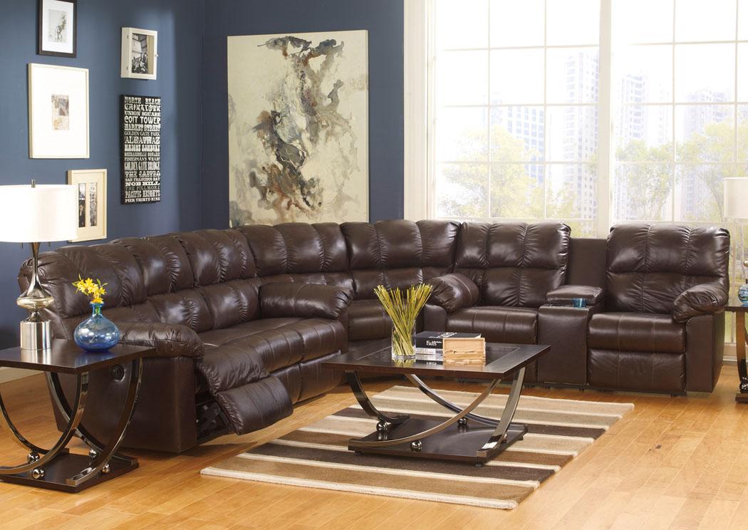 Canales Furniture Arlington Dallas Fort Worth Mesquite Tx Kennard Chocolate Reclining
