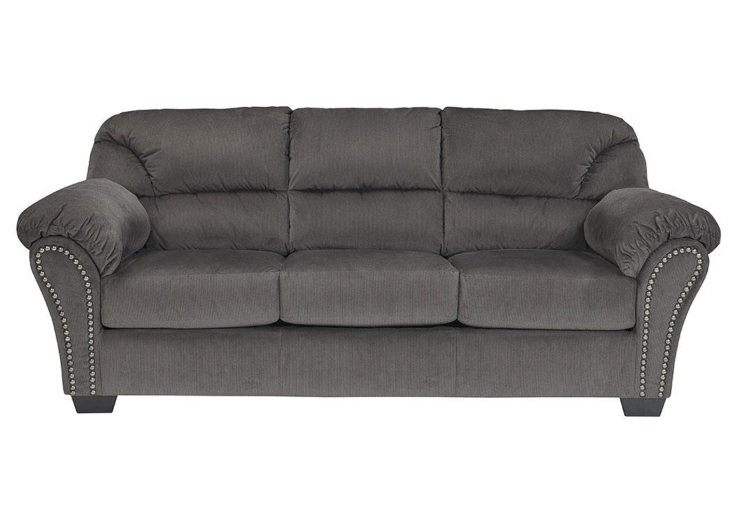 Bargain Furniture Kinlock Charcoal Sofa