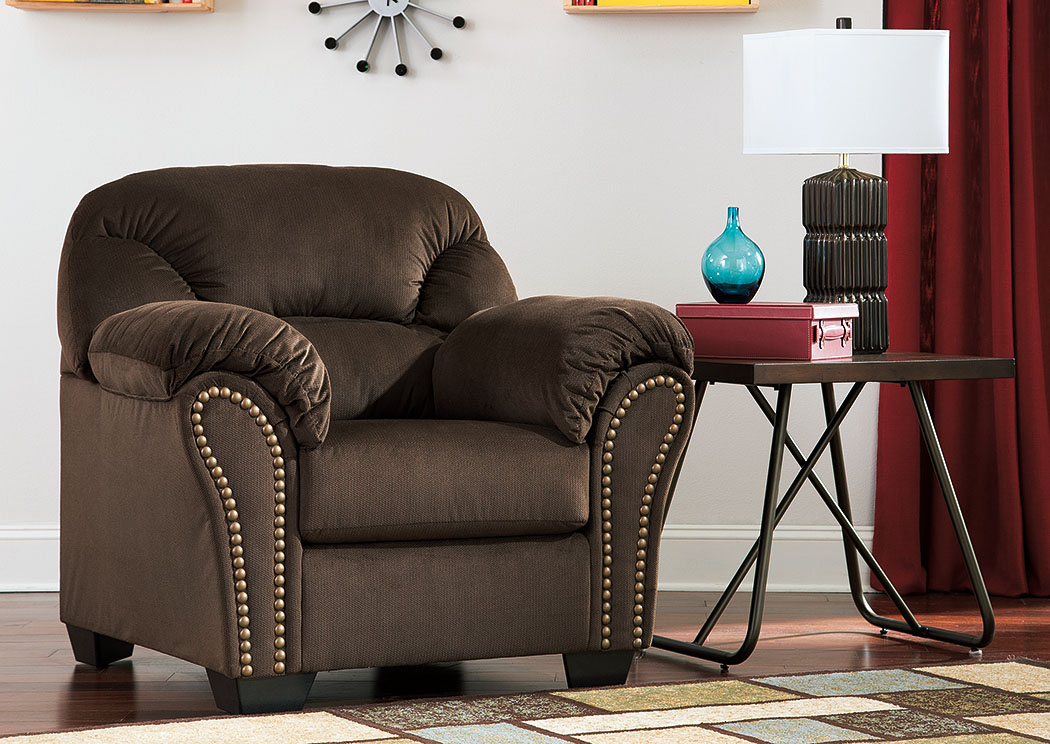Orleans Furniture Kinlock Chocolate Chair