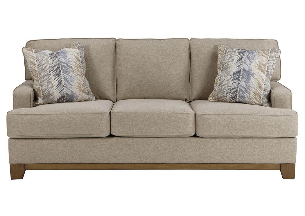 WCC Furniture Lafayette LA Hillsway Pebble Sofa