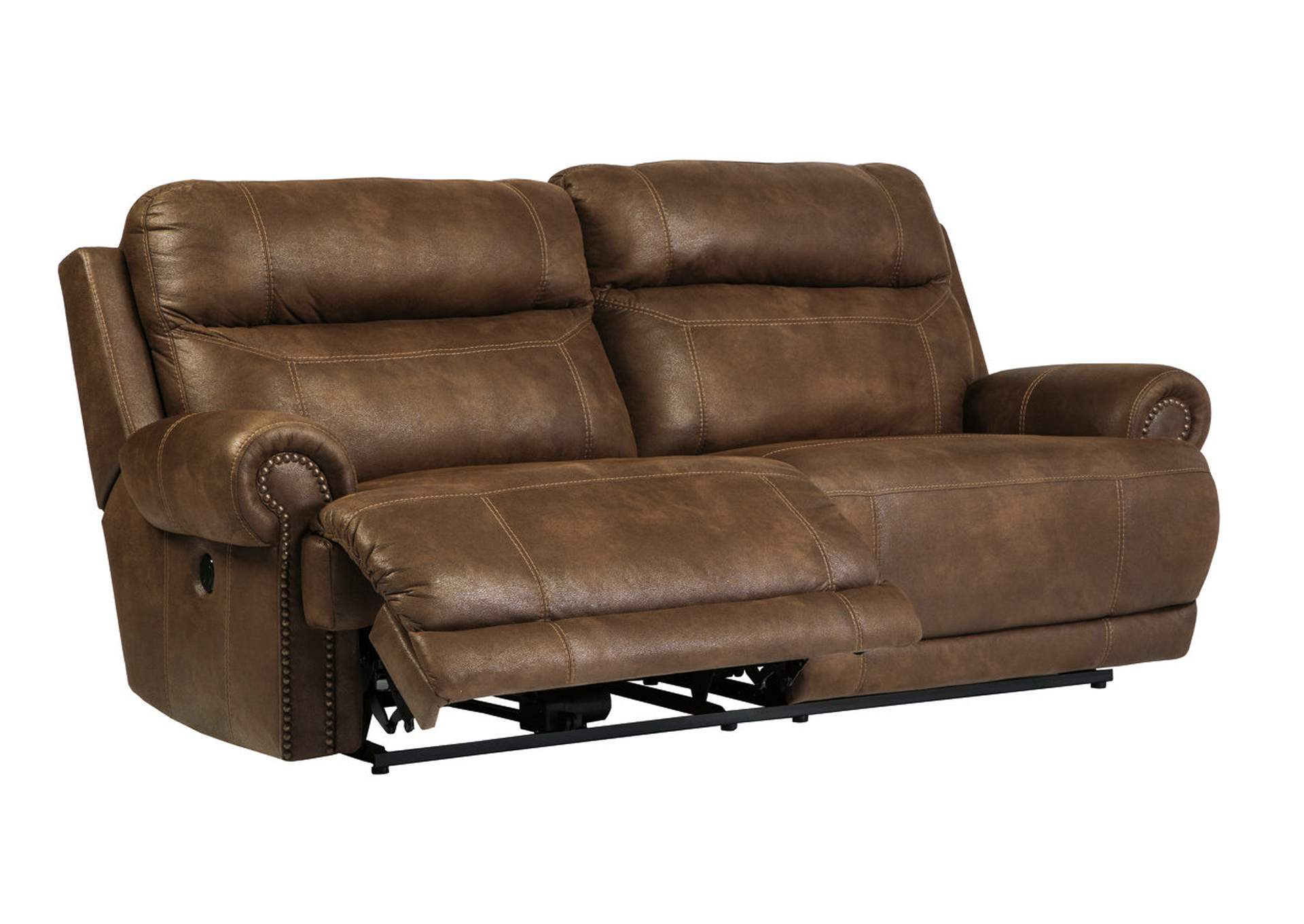 Harlem Furniture Austere Brown 2 Seat Reclining Power Sofa