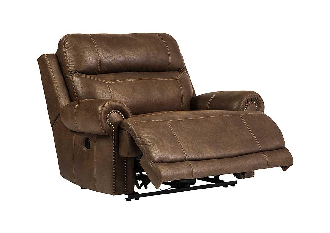Major Discount Furniture Austere Brown Zero Wall Power