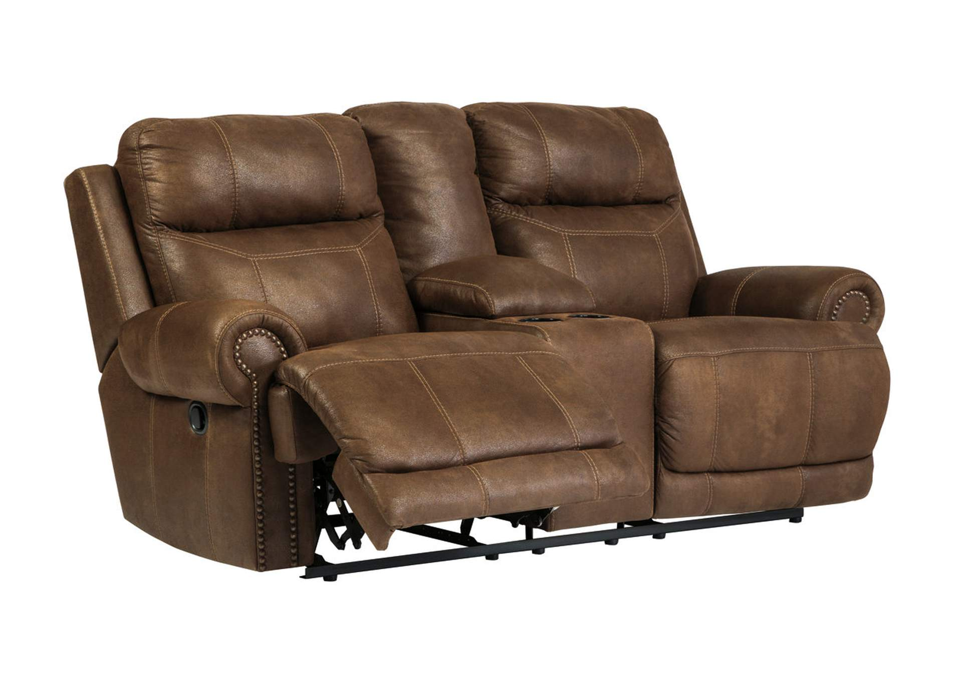 Harlem Furniture Austere Brown Double Reclining Power