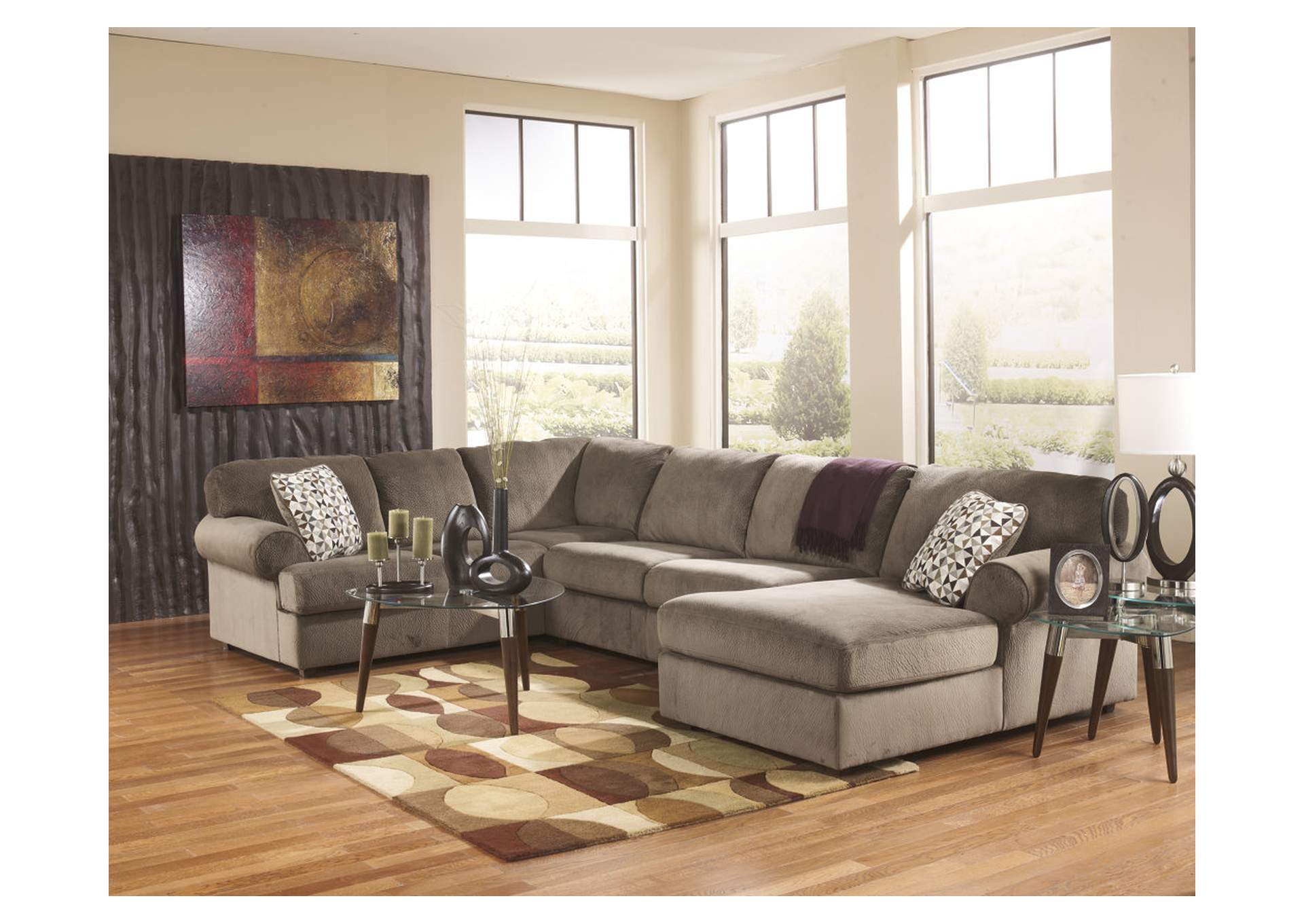 Warehouse Furniture Jessa Place Dune Right Facing Chaise