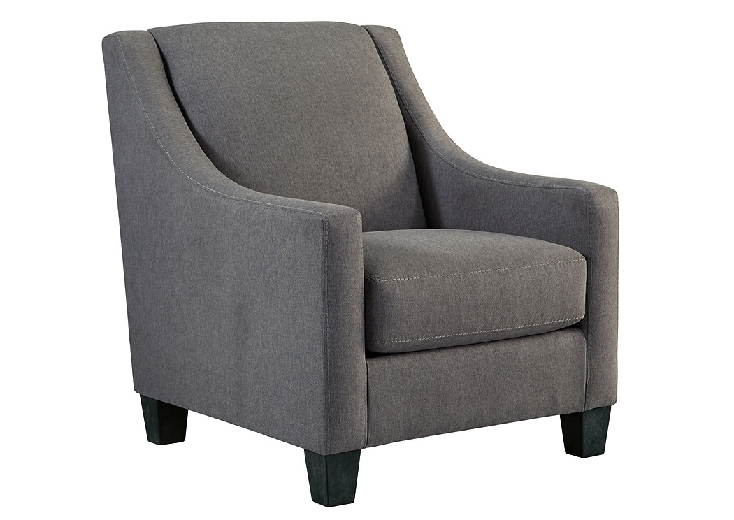 Foothills Family Furniture Maier Charcoal Accent Chair