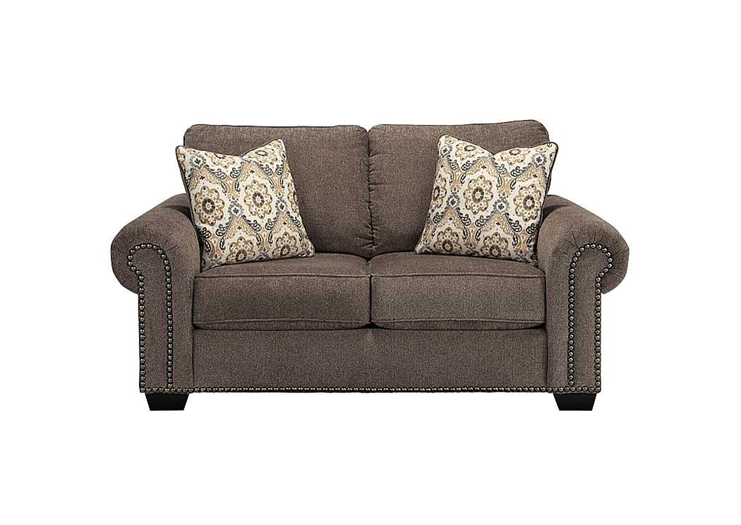 Florissant Furniture Emelen Alloy Loveseat