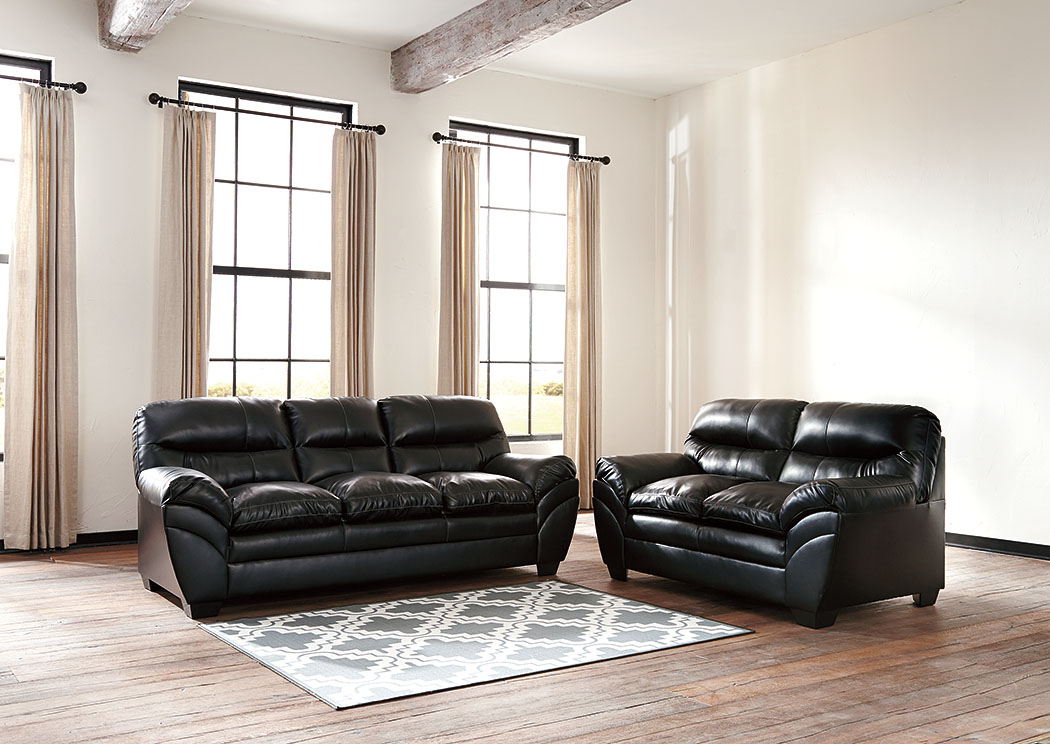 Home furniture by design hallandale beach fl tassler durablend black sofa and loveseat Ashley couch and loveseat