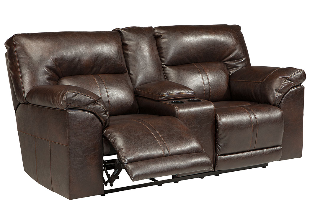Nulook Furniture Barrettsville Durablend Chocolate Double