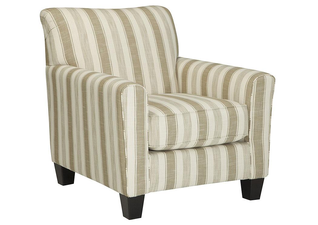 Florissant Furniture Laryn Khaki Accent Chair
