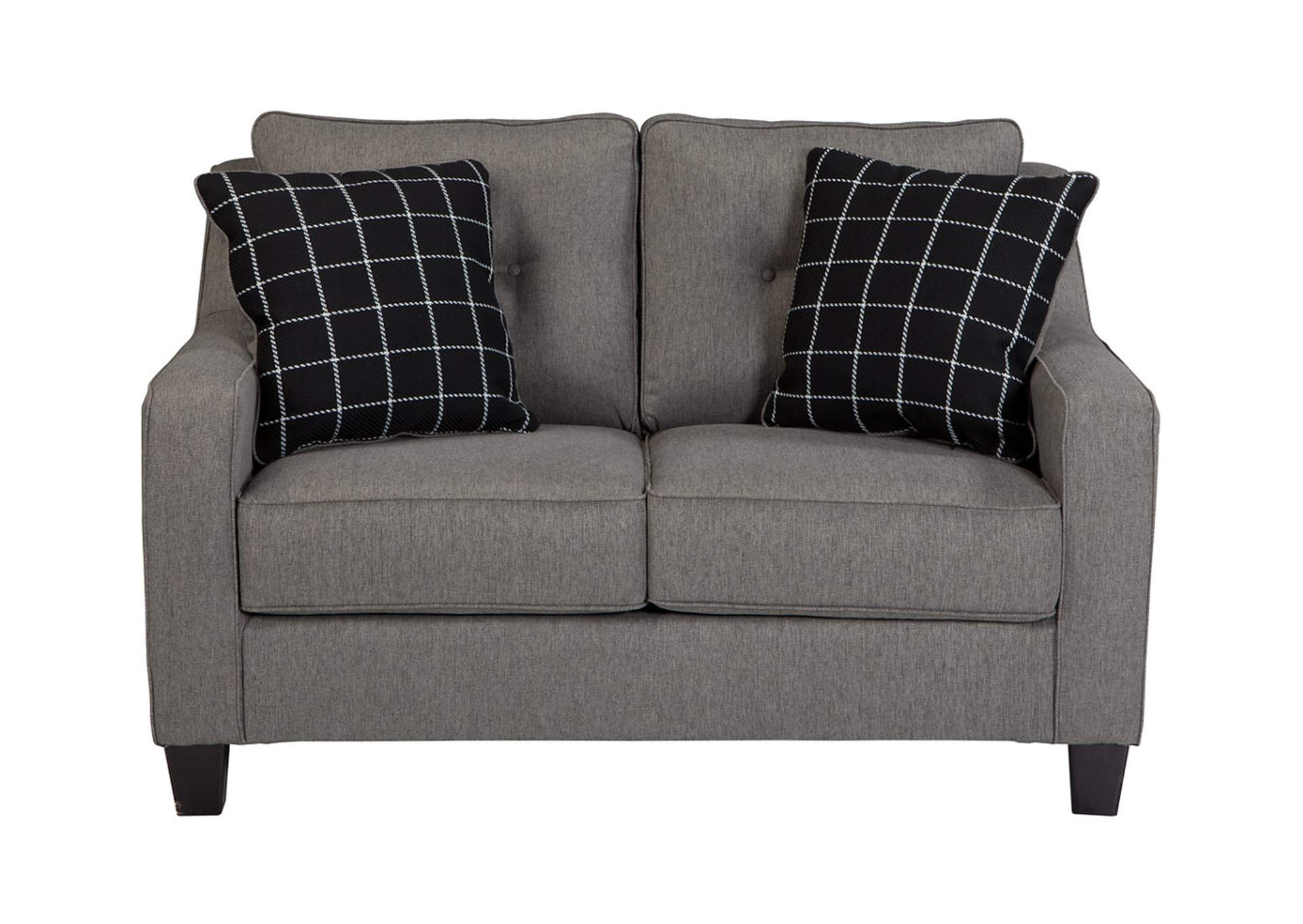Furniture Factory Warehouse Barrington Nj Brindon Charcoal Loveseat