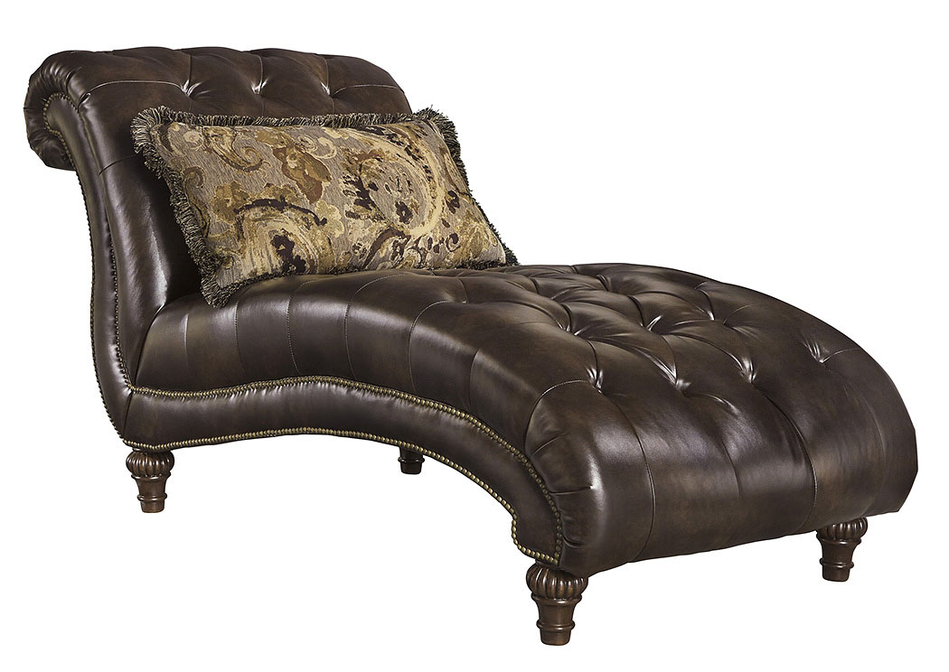 Alabama furniture market winnsboro durablend vintage chaise for Antique chaise lounge prices