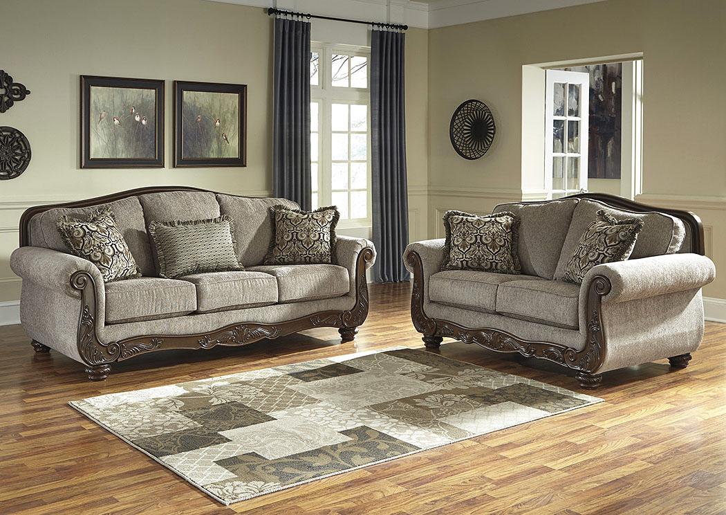 Furniture liquidators home center cecilyn cocoa sofa and for Furniture liquidators
