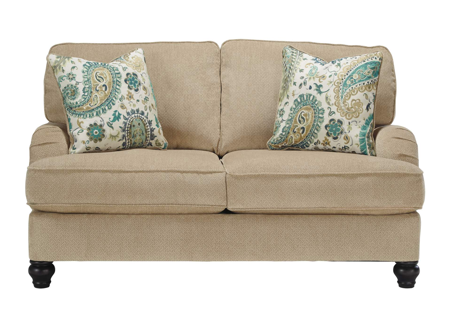 W.A Akins u0026 Sons Lochian Bisque Loveseat