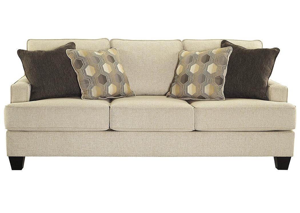 American Furniture Of Slidell Brielyn Linen Sofa