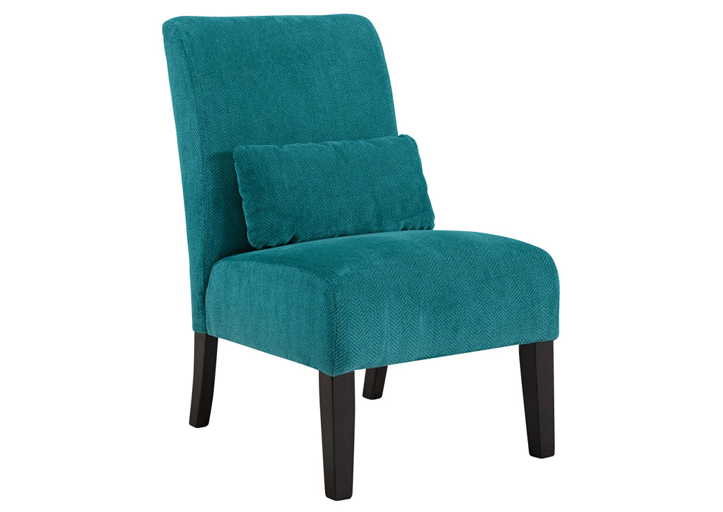 Corvin s Furniture Annora Teal Accent Chair