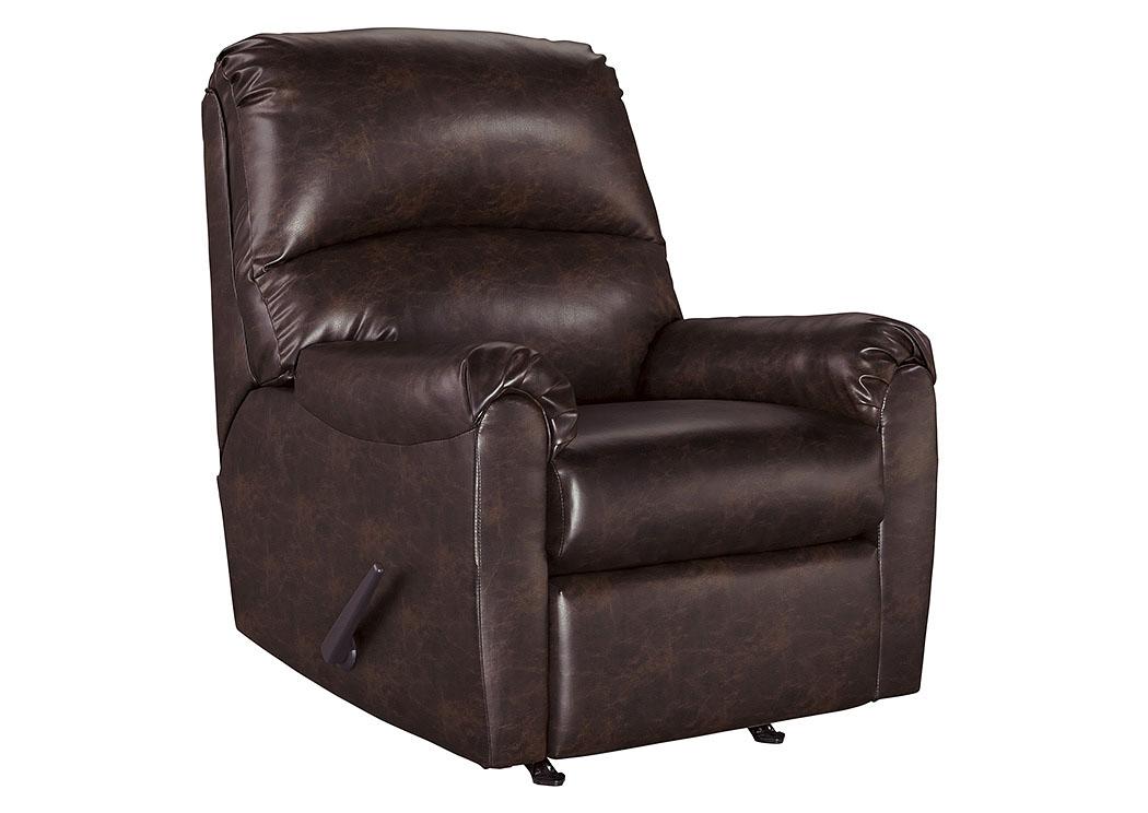 Stringer Furniture Talco Burgundy Rocker Recliner