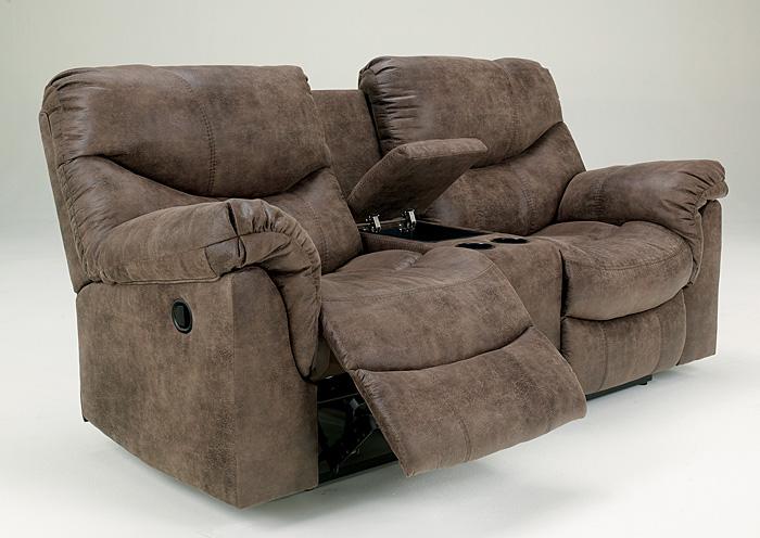 Alabama Furniture Market Alzena Gunsmoke Double Reclining