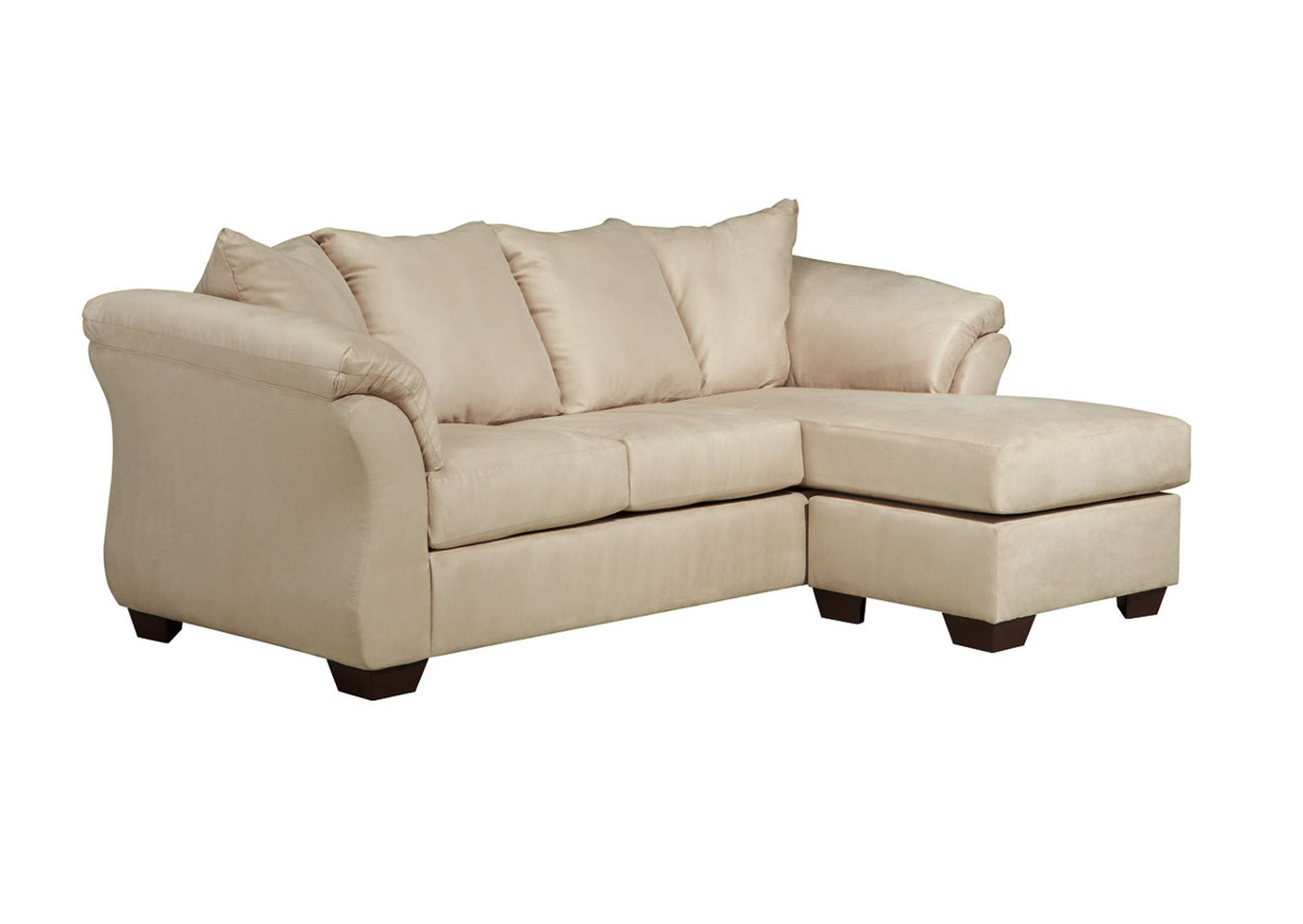 Jarons darcy stone sofa chaise for Ashley furniture chaise couch