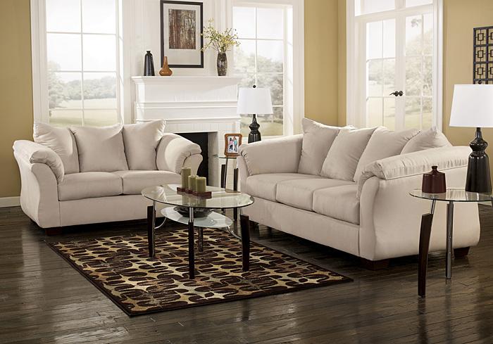 Stack Furniture Darcy Stone Sofa Loveseat