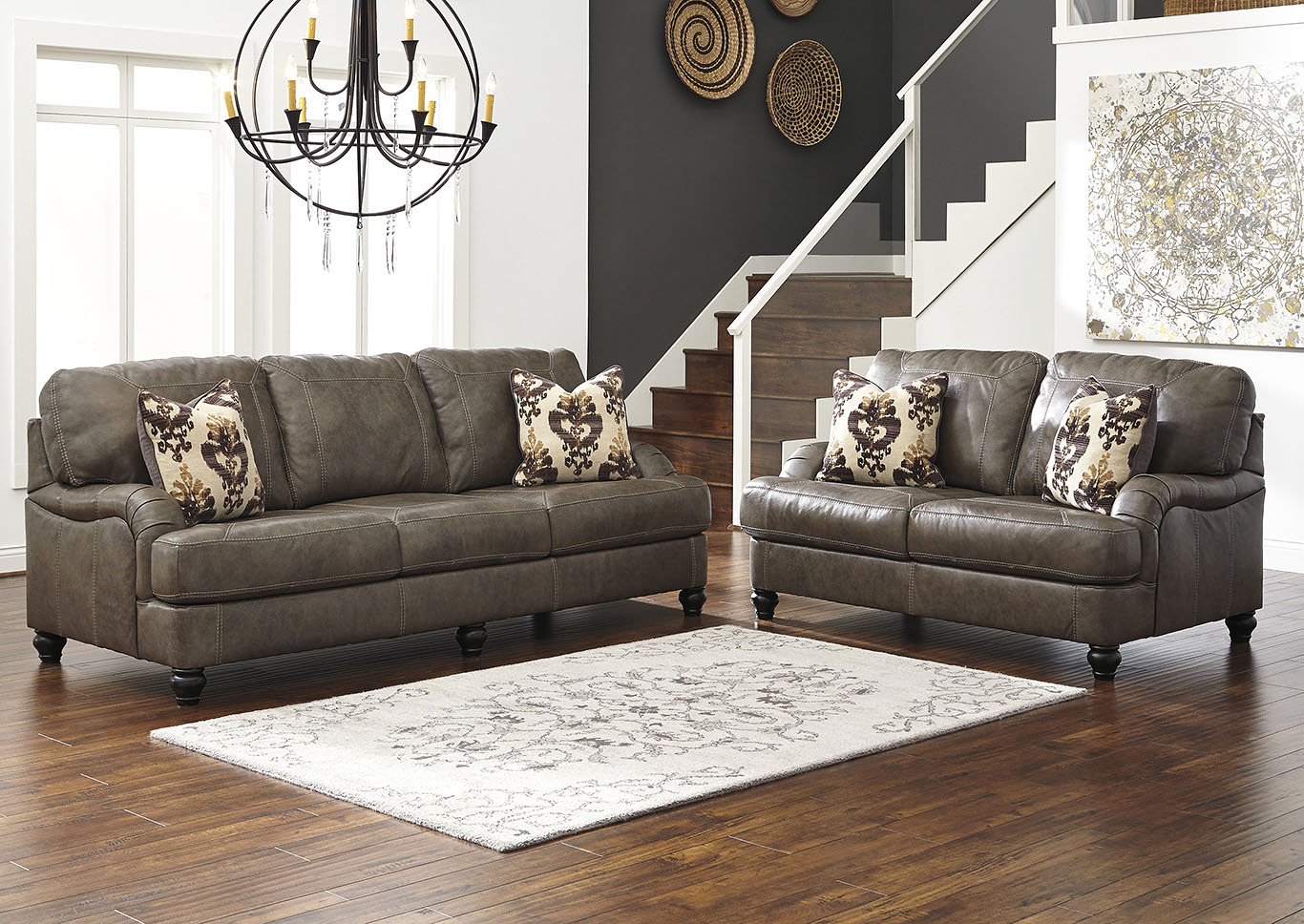 Beverly Hills Furniture Bronx Ny Kannerdy Quarry Sofa And Loveseat
