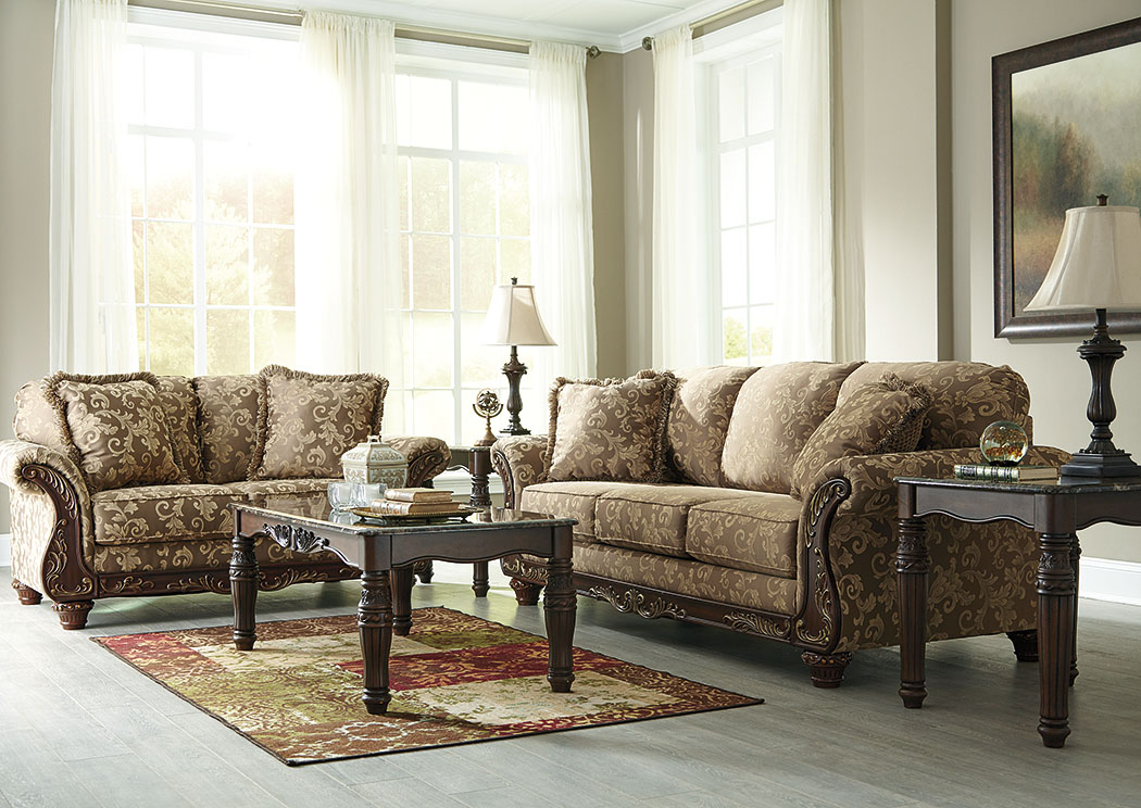 Affordable Furniture Houston Irwindale Topaz Sofa Loveseat