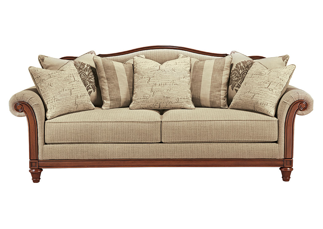 Alabama Furniture Market Berwyn View Quartz Sofa