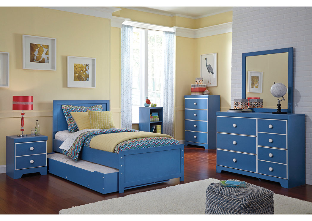 Bronilly Twin Trundle Bed  Dresser  Mirror   Night Stand Signature Design  by Ashley. Furniture Liquidators Home Center Bronilly Twin Trundle Bed