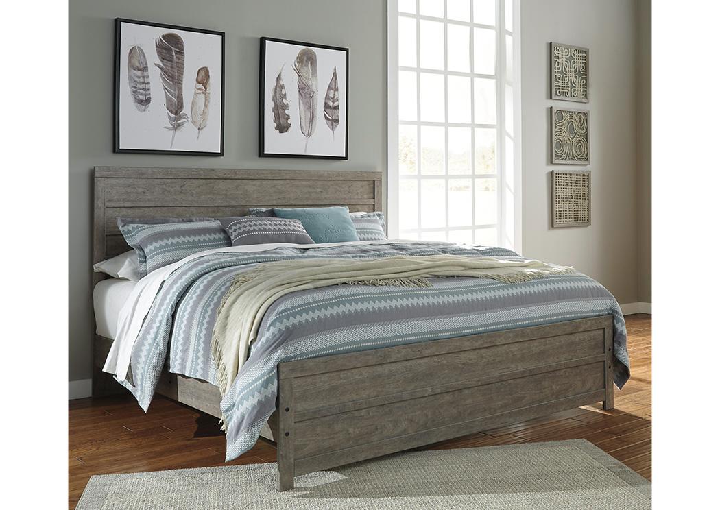Alabama Furniture Market Culverbach Gray King Panel Bed