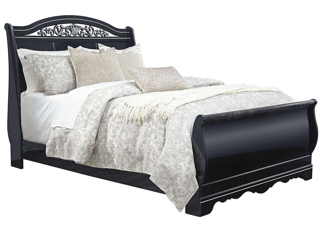 And furniture marietta ga constellations black queen sleigh bed