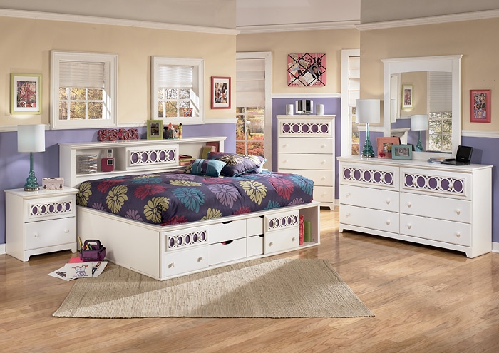 zayley full bookcase bed 2