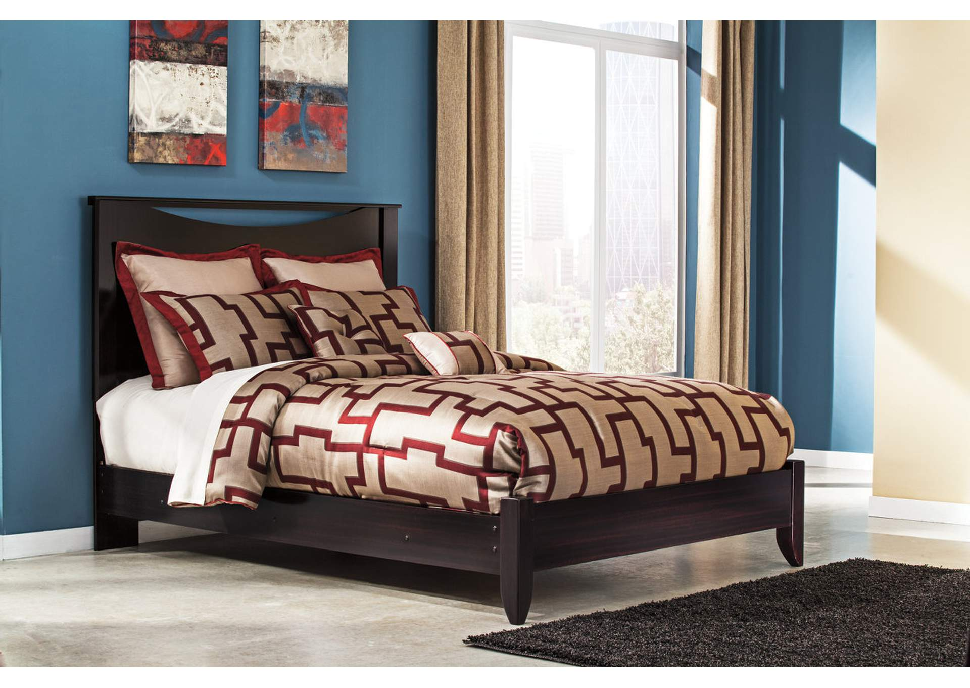 Furniture Expressions Fayetteville Ga Zanbury Queen Panel Bed