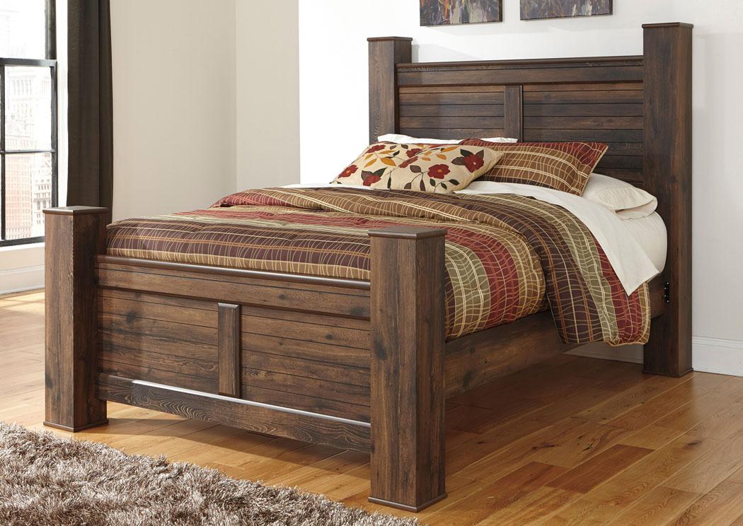 Spiller Furniture Mattress Quinden Queen Poster Bed