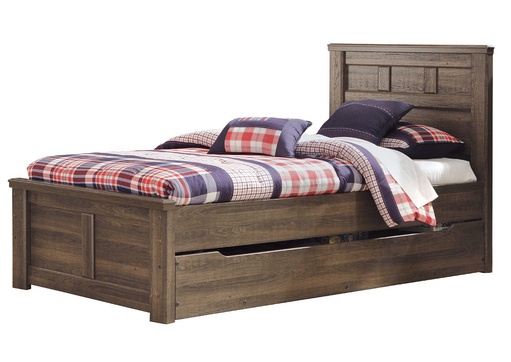 Alabama Furniture Market Juararo Twin Panel Storage Bed