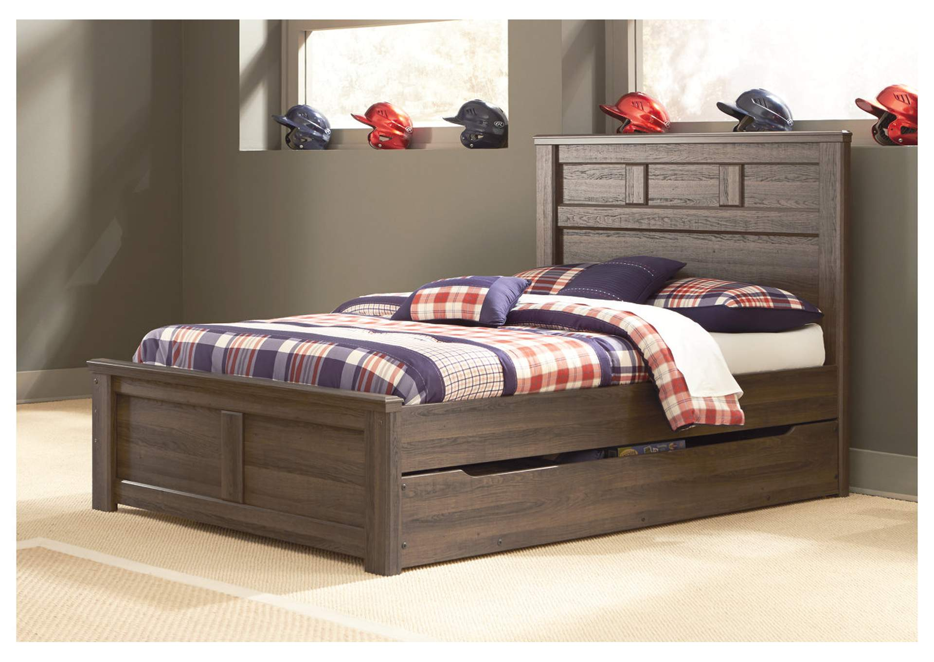 Alabama Furniture Market Juararo Full Panel Storage Bed