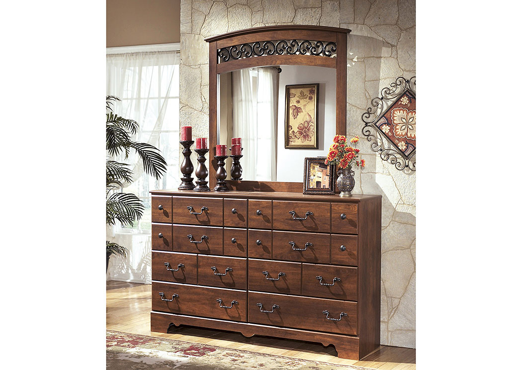 Harlem Furniture Timberline Dresser Mirror