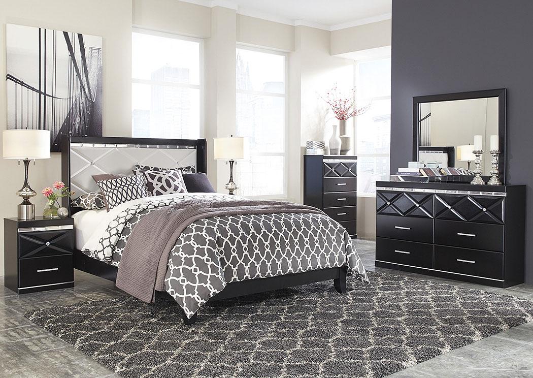 National Furniture Outlet Westwego La Fancee Black Dresser