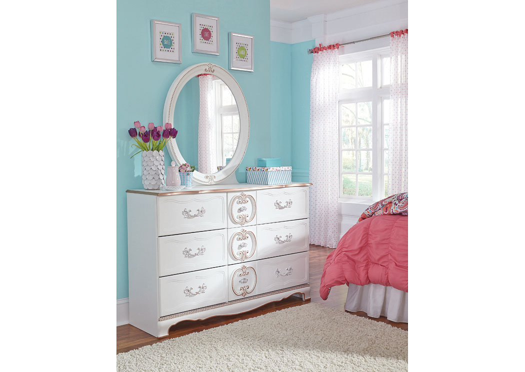 Barbara Jeans Furniture Korabella White Dresser