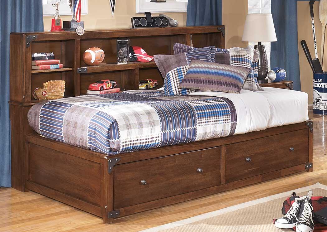 Furniture Palace Delburne Full Storage Captains Bed