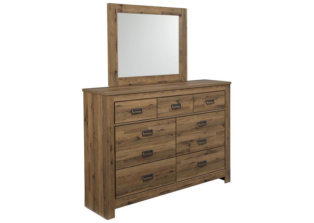 Orleans Furniture Cinrey Medium Brown Bedroom Dresser