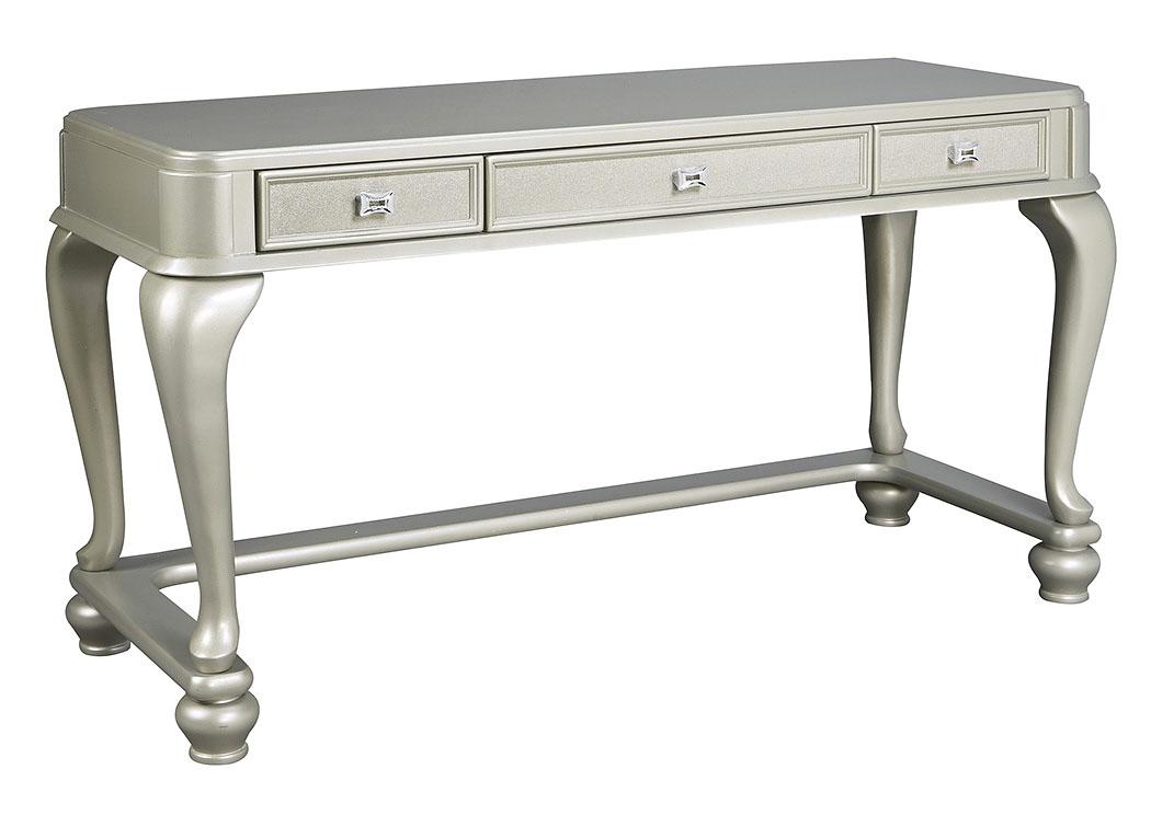 National Furniture Outlet Westwego La Coralayne Silver Vanity