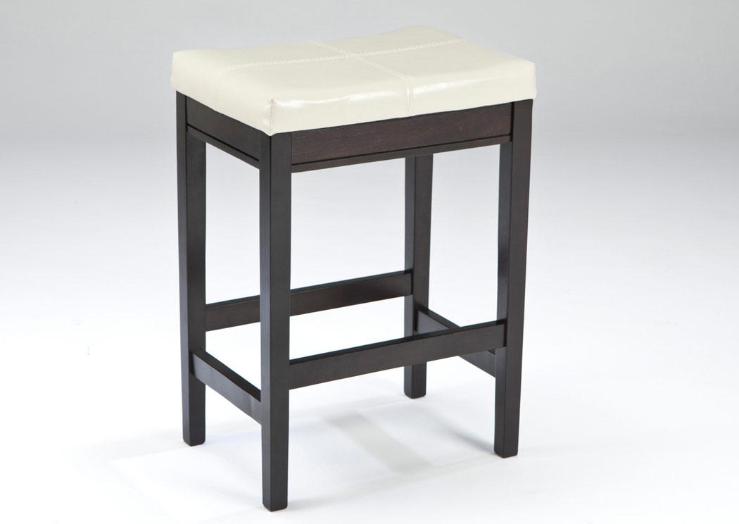 Furniture Warehouse Augusta Ga Kimonte Ivory Upholstered Barstool Set Of 2
