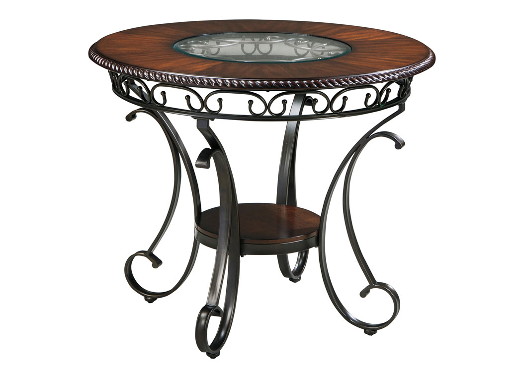Design By Ashley Dining Room Glambrey Round Counter Height Table